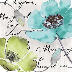 Fleurs De France Print by Mindy Sommers