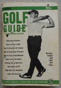 1966 Golf Guide by Snibbe Sports Publications 4th Edition- Original Golf Guide