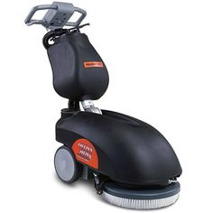 The Cordless Commercial Floor Scrubber - Hammacher Schlemmer