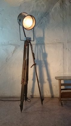 unique theater stage vintage spot light made in 1940 we are passionately collecting similar. Black Bedroom Furniture Sets. Home Design Ideas