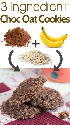Today we will be sharing with you a new favorite snack/breakfast meal. It is an easy 3 ingredient banana oatmeal cookie recipe that we know you will love!    Literally, all you need to make this recipe