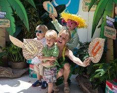 Julie Bowen, Selma Blair attend Huggies Hawaiian and Baby2Baby Luau