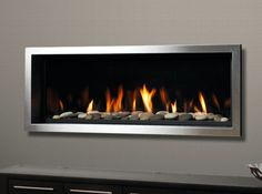 Kingsman ZRB46 Skyline 2 Marquis Series Direct Vent Gas Fireplace Linear | eBay