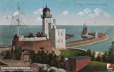 Latarnia morska Kołobrzeg, Kołobrzeg - 1916 rok, stare zdjęcia