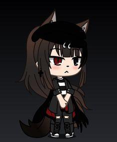 Cute Cartoon Drawings, Anime Girl Drawings, Anime Wolf Girl, Anime Art Girl, Cute Anime Character, Character Outfits, Cute Anime Chibi, Kawaii Anime, Girls Characters