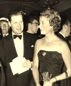 Johnny and Frances, Earl and Countess Spencer, Diana, Princess of Wales's parents, Princes William and Harry's maternal grandparents.