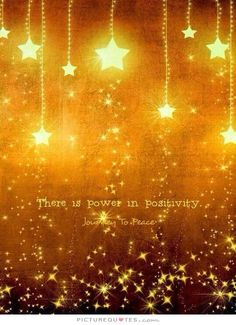 There is Power in Positivity ~ Journey to Peace ⊰♡⊱