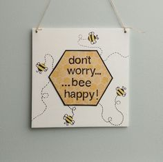Father's Day Gift, Fathers Day Present, Dad, Daddy, Bee Sign, Bee Decoration, Bee, Handmade in England UK by PaperScissorsStitch on Etsy Fathers Day Presents, Gifts For Father, Mother Gifts, Mothers, Personalised Frames, Personalized Baby Gifts, Bee Pictures, Mothering Sunday, Cute Signs