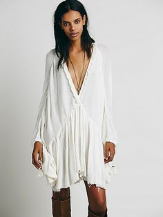 Free People Get Yer Gauze Tunic at Free People Clothing Boutique