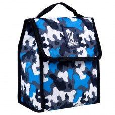 Kids Lunch Box & Bags: Blue Camo Munch 'n Lunch Bag