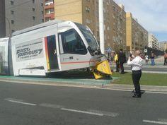 Un tramway Fast & Furious