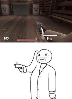 That field of view #TF2 HAHAHAHA OH MY WORDD I NEVER REALIZED THAT XDDDD