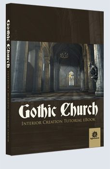 Gothic Church - LightWave £9.95