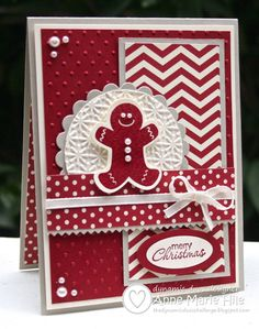 Super cute.   Stampin' Anne: Merry Gingerbread Christmas for Dynamic Duos #28