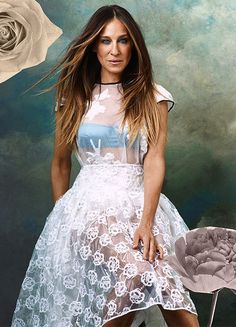 These SJP Photos Are Classic Carrie Bradshaw: Admittedly, it doesn't take much for us to fall in love with Sarah Jessica Parker all over again. Best Ombre Hair, Ombre Hair Color, Estilo Carrie Bradshaw, Carrie Bradshaw Hair, Love Her Style, Style Icons, Editorial Fashion, Celebrity Style, Glamour