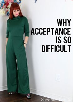 Suzanne Carillo - Page 3 of 946 - Adventurous style solutions for the uncommon woman Definition Of Self, Nothing Lasts Forever, I Can Change, Getting Out Of Bed, Acceptance, Personal Style, Jumpsuit, Woman, Fashion