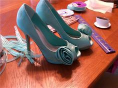 The PERFECT Tiffany Blue Shoes!! :  wedding tiffany blue tiffany blue shoes zappos Tiffanyblueshoes