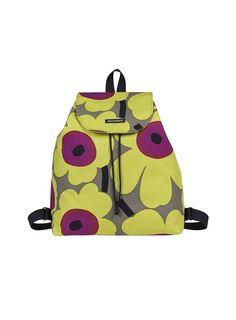 Textile Patterns, Print Patterns, Textiles, Marimekko Bag, Cute Handbags, Fabric Bags, Leather Fabric, Illustrations, Scandinavian Design