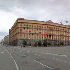 Alexander V. Ivanov, Lubyanka Building, Moscow, Russia - street view