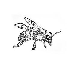 29 Cute and Sexy Bee Tattoo Designs