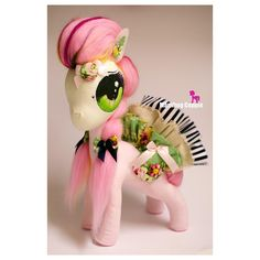 $140 Large Fabric Pony Sculpture featuring Loopy by MarlibugCuppie on Handmade Australia