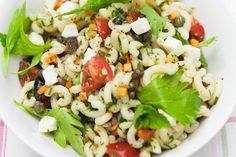 Salade de pâtes toute simple à la grecque