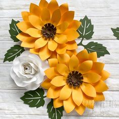 5 Piece Sunflowers and Roses Set Wildflower Nursery Paper Flower Nursery, Boho Nursery, Nursery Wall Decor, Nursery Art, Paper Flower Wall, Flower Wall Decor, How To Make Paper Flowers, Diy Flowers, Sunflowers And Roses