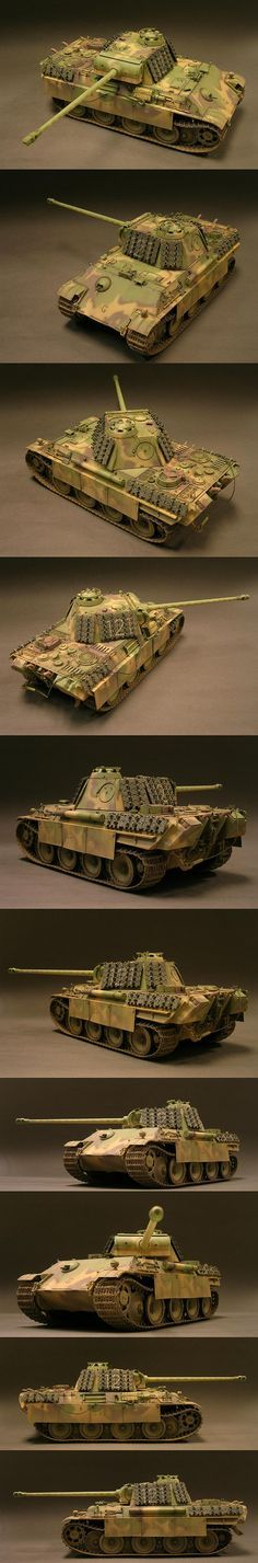 Panther G Panzer Lehr division Remagen Germany 1945. Model by Dinesh Ned
