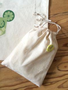 Tote bag coton Mojito : Sacs à main par atelier1987