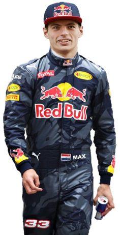 Max Verstappen for Red Bull Racing