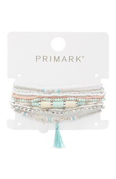 Primark - Pack de 10 braceletes da amizade