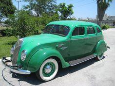 Chrysler Airflow, Chrysler Cars, Desoto Cars, Panel Truck, Truck Design, Vintage Trucks, Station Wagon, Custom Trucks, Amazing Cars