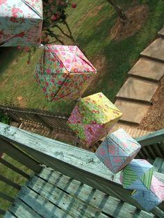 more origami mobiles