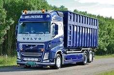 VOLVO FH. .WIJNSMA Scania V8, Recycling Containers, Truck Paint, Volvo Trucks, Transportation, Scrap, Ford, Posts, Steel