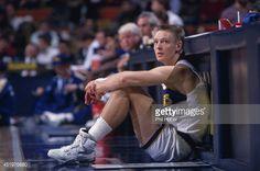 Fotografia de notícias : Indiana Pacers Detlef Schrempf during game vs...