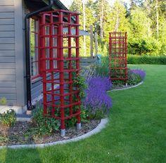 klätterväxter spalje - Sök på Google Arbors Trellis, Garden Trellis, Plant Supports, Backyard, Patio, Plank, Homesteading, Outdoor Gardens, Pergola