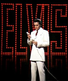 "Elvis: June 30 1968, filming the sequence of the ending of his NBC TV Special ""If I Can Dream""."