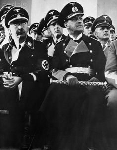 Himmler and Raeder - NA005372 - Rights Managed - Stock Photo - Corbis