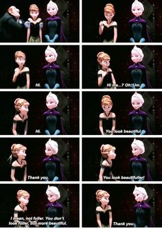 Every time I see this, it brings tears to my eyes. All Anna ever wanted was to be close with her sister, and Elsa too, but because of Elsa's fear, they couldn't. And the night that Elsa got hit it was so sad Frozen And Tangled, Frozen Movie, Disney Frozen, I Movie, Elsa Frozen, Frozen 2013, Frozen Art, Disney And Dreamworks, Disney Pixar