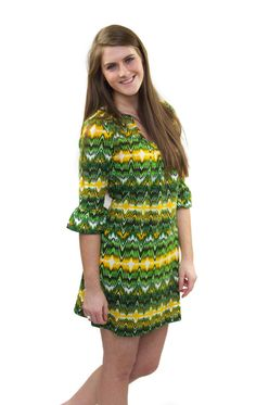 """Stay cute and cozy in our """"Lemon Lime Dress!"""