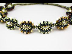 Ожерелье из оплетёных бусин. (Часть 2/2) - YouTube