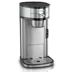 If you're not a fan of packs or pods, the Hamilton Beach The Scoop Single-Serve Coffeemaker is able to use whatever coffee you like.