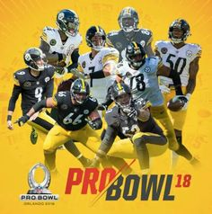 6529d9e67 Eight Steelers have been selected to the 2018 ProBowl  Ben Roethlisberger  Alejandro Villanueva Le Veon Bell Ryan Shazier Maurkice Pouncey Chris  Boswell ...