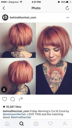 Red hair: 10 beautiful hairstyles in a great shade of red! - Rote Haare: 10 wunderschöne Frisuren in einem tollen Rotton! – Neue … Red hair: 10 beautiful hairstyles in a great shade of red! Medium Hair Cuts, Short Hair Cuts, Short Hair Styles, Love Hair, Great Hair, Pretty Hairstyles, Bob Hairstyles, Bridal Hairstyles, Celebrity Hairstyles