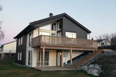 Nimbus | Nordbohus.no Deck Railings, Home Fashion, Decks, Outdoor Spaces, Porch, Outdoors, Exterior, Mansions, House Styles