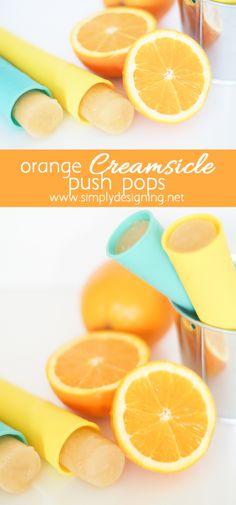 Homemade Orange Crea