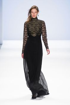 Tadashi Shoji Fall 2013: Snow Princesses on the Run