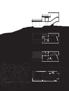 Gallery of Bala Line House / Williamson Chong Architects - 11 - Architecture Ideas Coupes Architecture, Landscape Architecture Model, Architecture Drawing Plan, Conceptual Architecture, Architecture Panel, Architecture Visualization, Architecture Graphics, Architecture Portfolio, Architecture Design