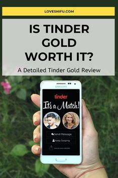 Are you planning to upgrade your Tinder account and looking for Tinder Gold review? Wondering if Tinder Gold worth it? Read our review. #tinder #tindergold #tinderplus #tindergoldreview Tinder Account, Tinder Dating, Send Message, Messages, How To Plan, Reading, Gold, Reading Books