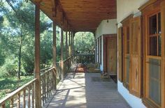 Nail Çakırhan Mimarisi - Ön Beautiful Space, Landscape Design, Pergola, Restoration, Villa, Deck, Outdoor Structures, Outdoor Decor, Home Decor